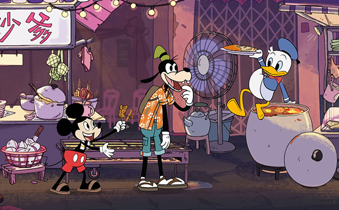 "Mickey & Friends Take On Singaporean And Malaysian Settings With Disney Southeast Asia's ""Mickey Go Local"" Animated Series"
