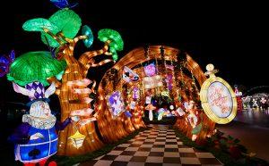Curious Adventures in Wonderland - Lanterns at VivoCity