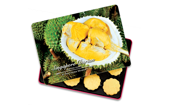 Durian Cookies - The Cookie Museum