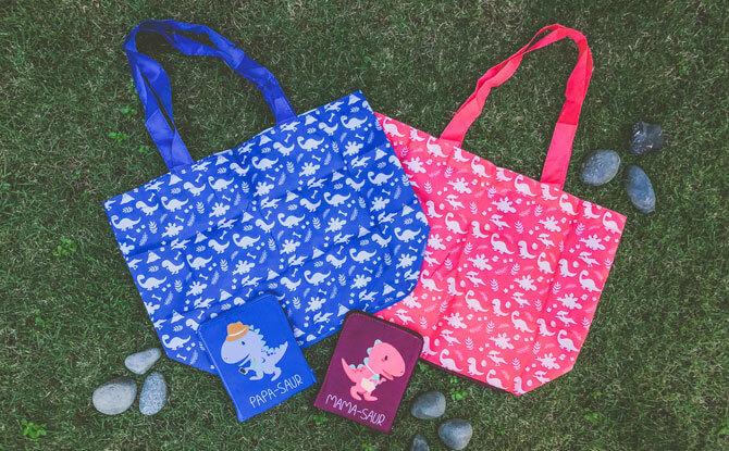 Dino-sized Shopping Perk - Eco-Bags