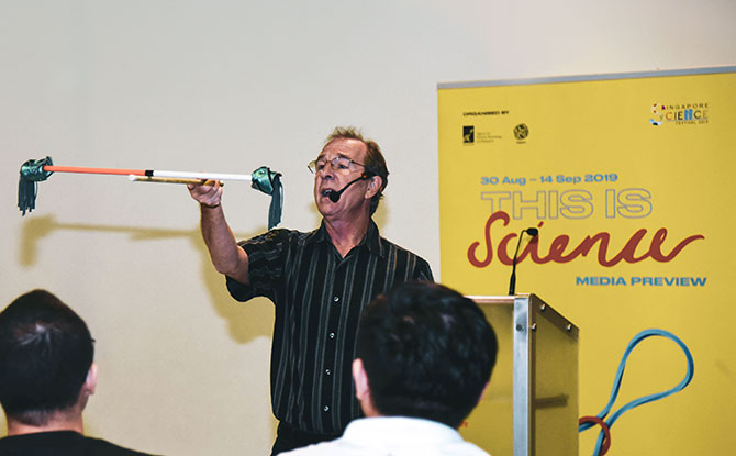 The Magical Math and Science Show - Part of Singapore Science Festival 2019