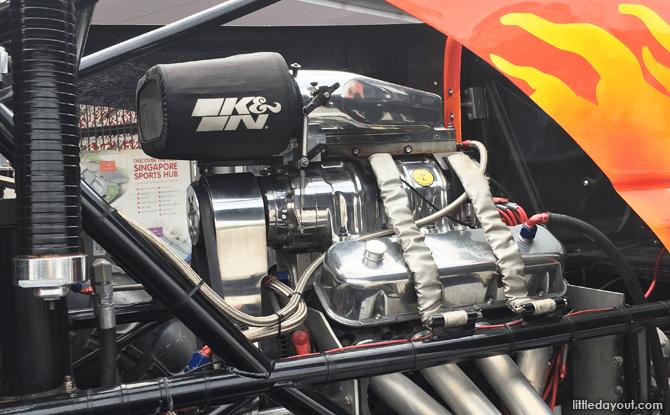 Monster Truck's engine