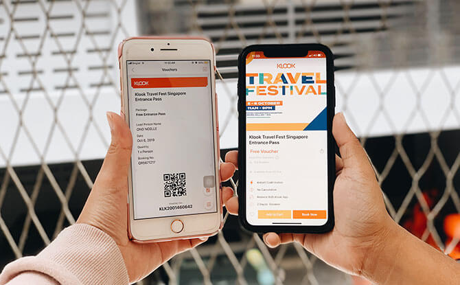 Entry to the Klook Travel Festival is free