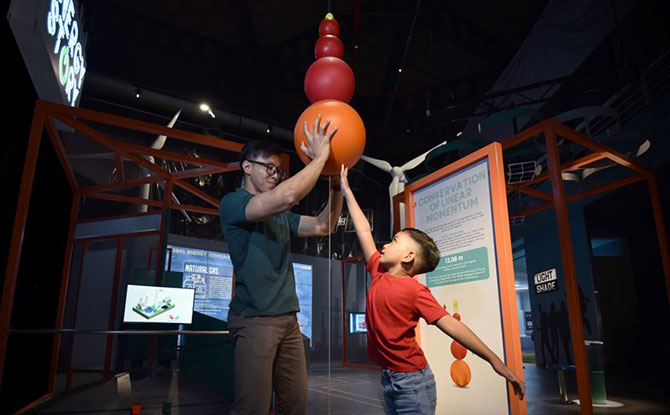 Energy Story Exhibition: All About Energy At Science Centre Singapore