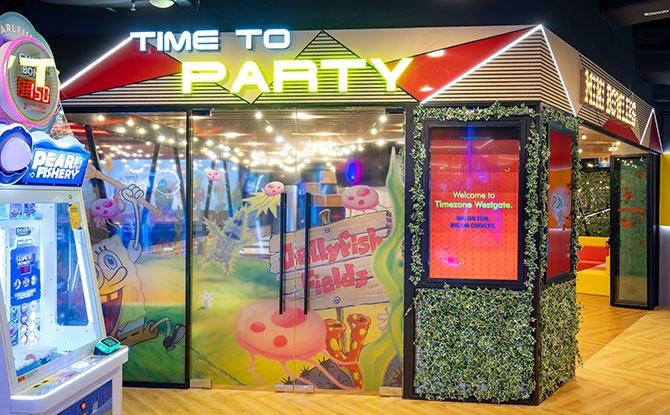 Spongebob Squarepants Party Rooms