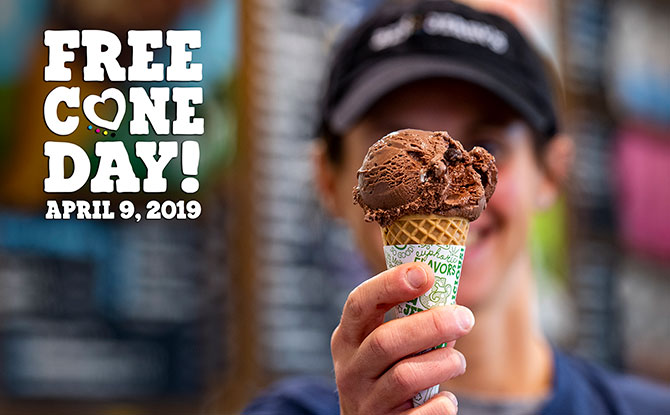 It Is Free Cone Day 2019 At Ben & Jerry's On 8 April!