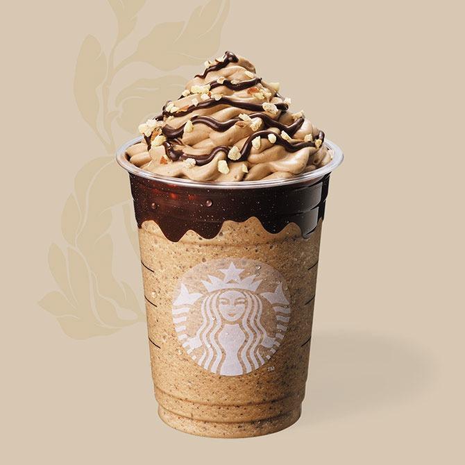 Choco-choco Nutty Frappuccino