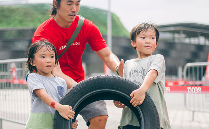 National Stadium Open House 2020: Family Obstacle Games