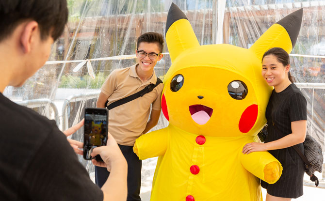 Pikachu appearances