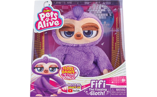 """Fifi The Flossing Sloth - Toys """"R"""" Us List Of Top 10 Toys"""