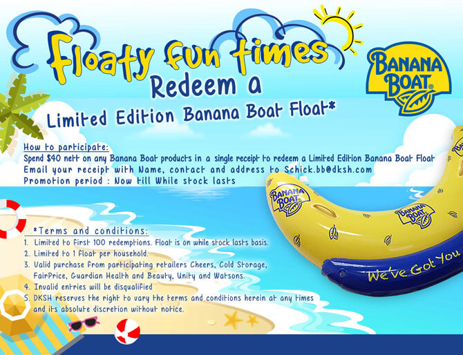 Redeem a Banana Boat Float