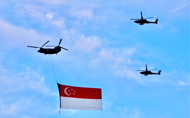 NDP2020 Fly Past: State Flag To Make Its Way Around The Island On Two Routes