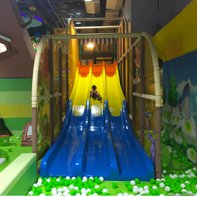 Slide at Forest Indoor Playground