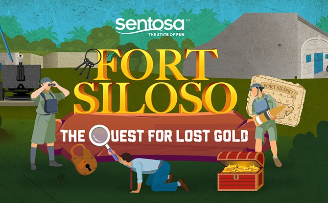 Virtual Fort Siloso Escape Room Game: The Quest for Lost Gold