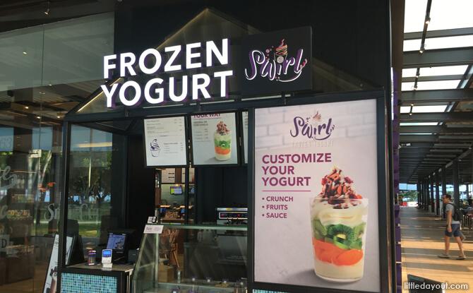 Swirly, Frozen Yogurt