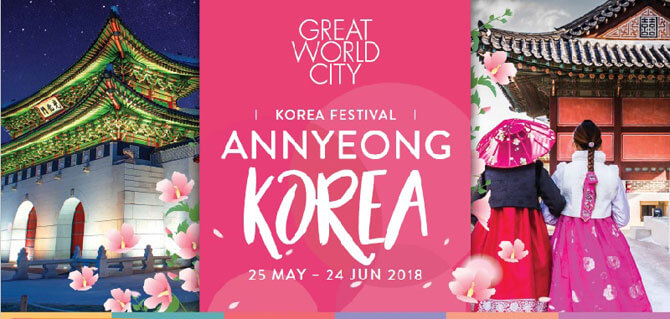 Korean festival Annyeong at Great World City