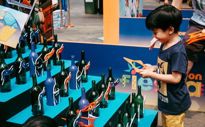 Game Booths at Nickelodeon Fiesta
