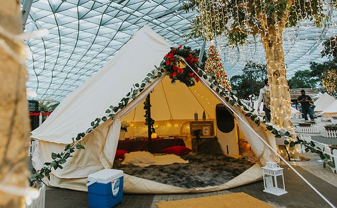 Glamping at Jewel