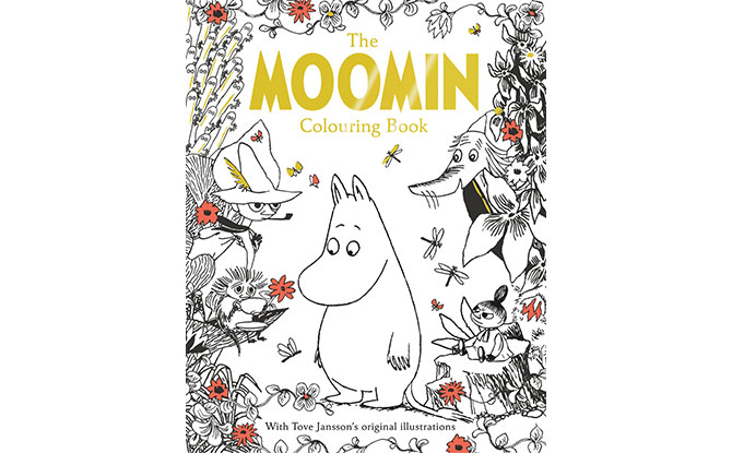 Sweden – Moomin Colouring Book, $24.95
