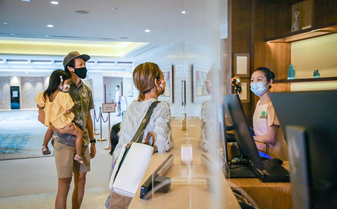 Staggered Check-in Times at the RWS Hotels