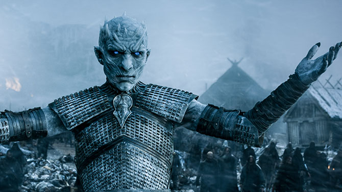 The Night King and his White Walkers