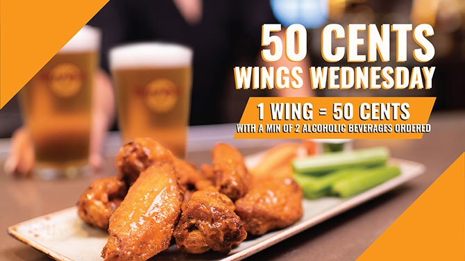 50 Cents Wings On Wednesdays At Hard Rock Café Singapore March 2021