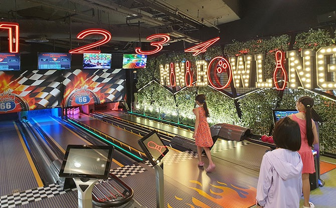 Bowling at Westgate Timezone