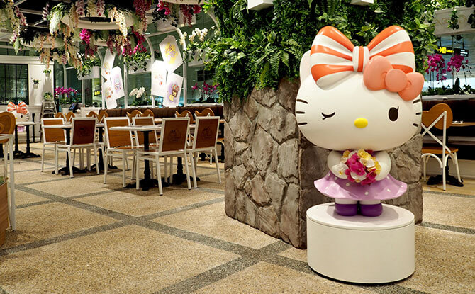 Farewell, Hello Kitty Orchid Garden at Changi Airport
