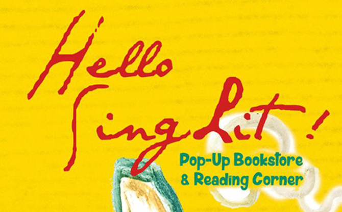 Hello SingLit! Pop-Up Book Fair