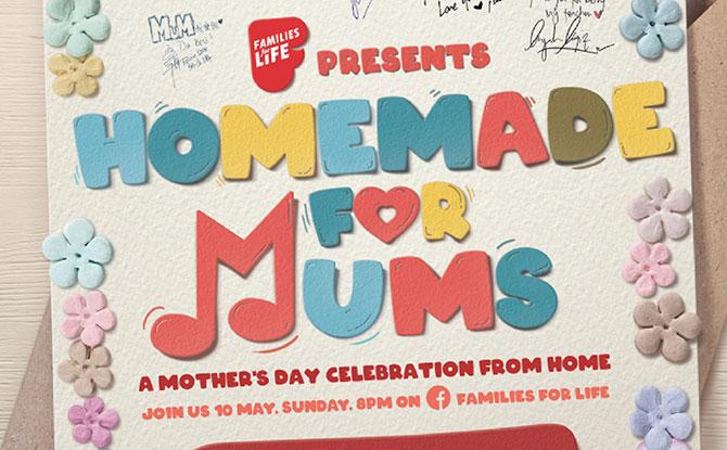Homemade for Mums Facebook Concert