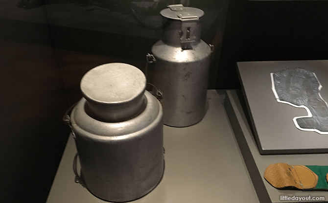 Pioneers: Early Indians in Singapore and Malaya - Milk Cans