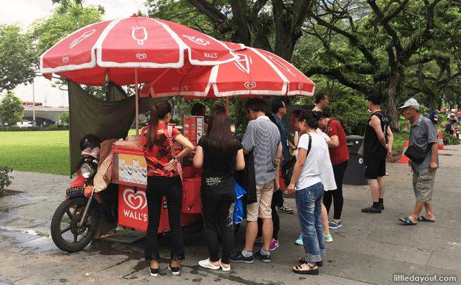Ice Cream Vendor, Singapore