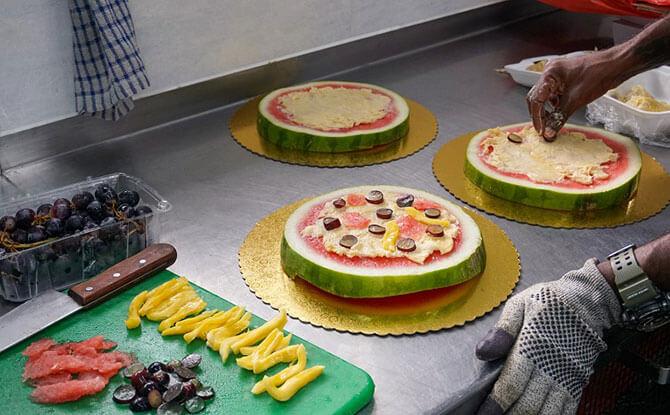 Ah Meng's Birthday Pizza