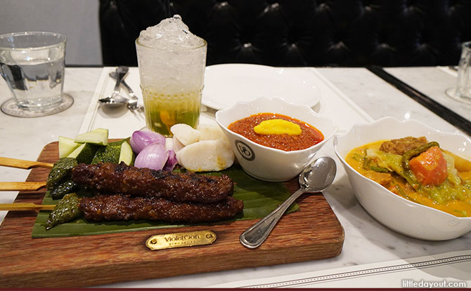 Violet Oon: An Elegant Taste Of Nonya And Singapore Flavours