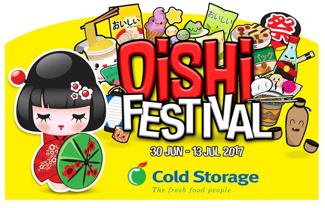 Cold Storage Oishi Festival