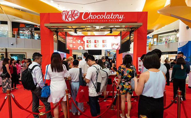 KITKAT Chocolatory Pop-Up Store
