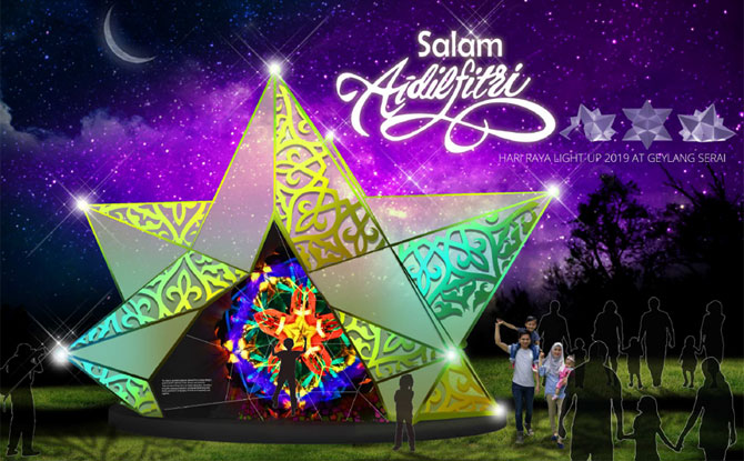 Hari Raya Light Up 2019 Celebrating The Kampung Spirit Little Day Out