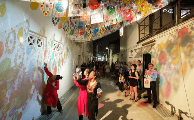 ARTWALK Little India - Singapore Art Week 2018