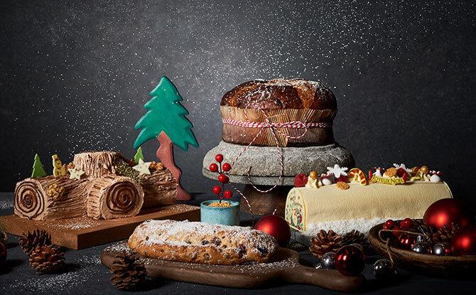 e Kempinski Christmas Log Cakes 1