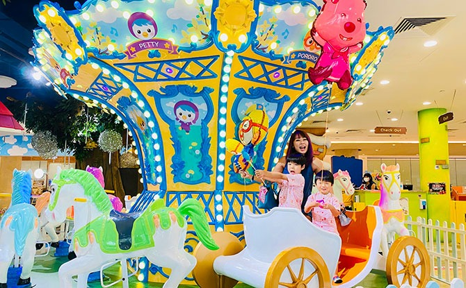 Pororo Park Singapore - Best Indoor Playgrounds in Singapore
