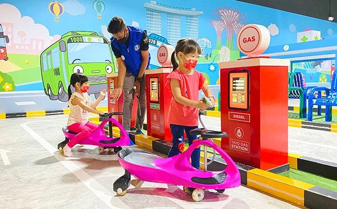 Tayo Station Indoor Playground in Singapore