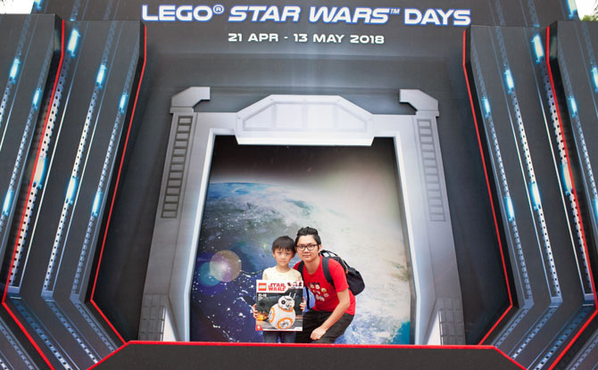 LEGOLAND Malaysia Resort Star Wars Days 2018