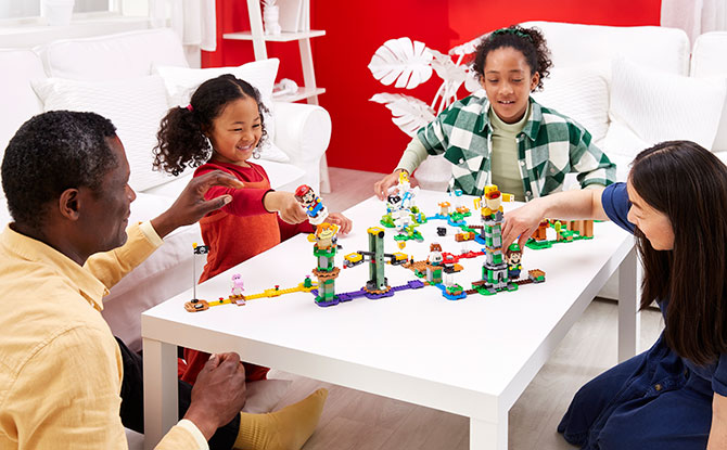 Interactive and Creative Playtime with LEGO Super Mario