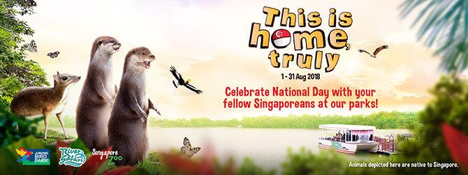 Go on a WILDerful Singaporean Trail and Enjoy Discounts to Wildlife Reserves Singapore Parks