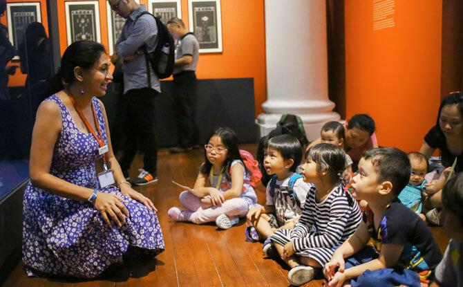 Let's Explore! - Children's Season 2018 at Asian Civilisations Museum