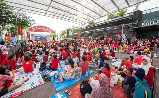 Live National Day Parade Screening Venues 2018