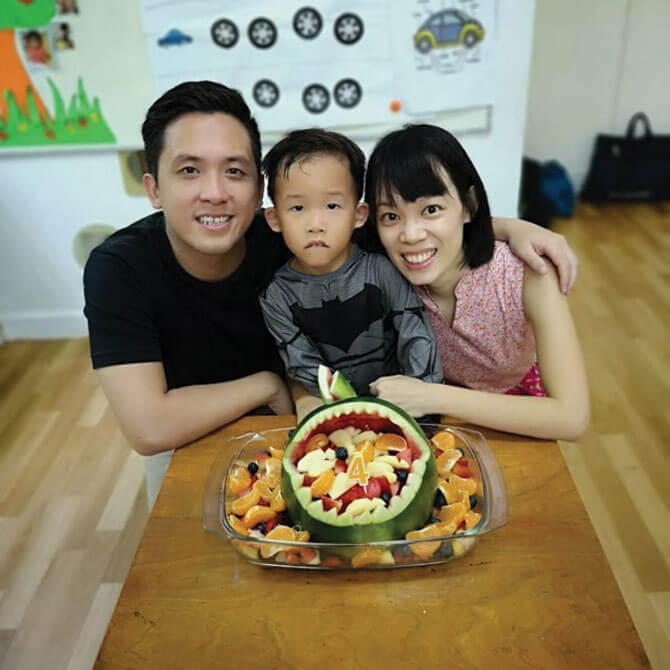 Luc Goh, 5, Preschooler