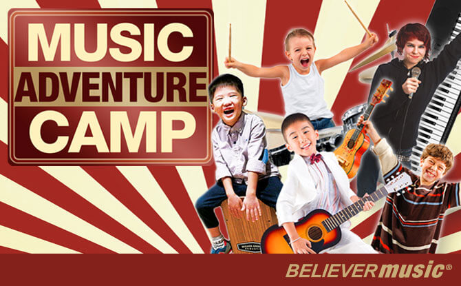 Believer Music Adventure Camp – Exposure to a Variety of Instruments, Including Drums! - PSLE Marking Days 2018 Activities