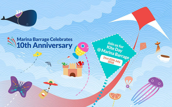 Singapore Kite Day 2018: Activities At The Marina Barrage On 21 & 22 July