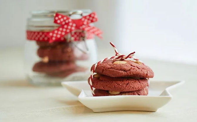 National Day Special: Red Velvet Cookies